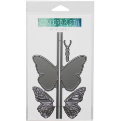 Butterfly CArd Dies Concord & 9TH