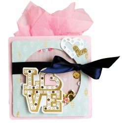Card Mini shaker Die Thinlits Sizzix