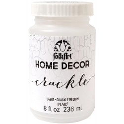 Crackle Medium 236 ml FolkArt Home Decor Plaid