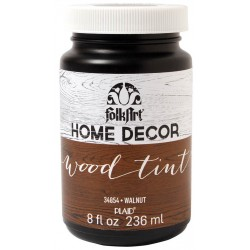 Walnut Wood Tint 236 ml FolkArt Home Decor Plaid