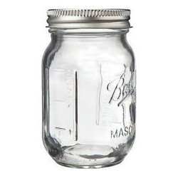 4 oz Ball Mini Storage Jars 4 Pkg