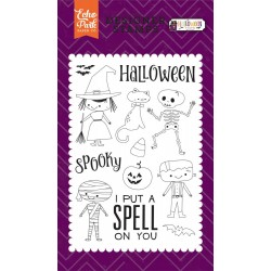 Halloween Costumes Clear Stamps Echo Park