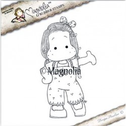 Timbro Welcome to my Birthday Tilda Magnolia Rubber Stamp - YB17