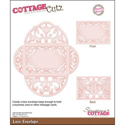Lace Envelope Die CottageCutz