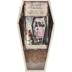 Wooden Vignette Coffin Tray Idea-ology by Tim Holtz