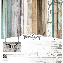 "Wood Effect 12""x12"" Paper Pack ModaScrap"