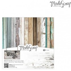 "Wood Effect 6""x6"" Paper Pack ModaScrap"