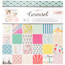 "Carousel 12""x12"" Paper Pad by Maggie Holmes Crate Paper"