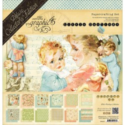 "Little Darlings Deluxe Collector's Edition 12""x12"" Papercrafting Set Graphic 45"