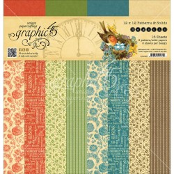 "Seasons Patterns & Solids 12""x12"" Graphic 45"