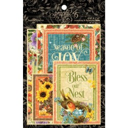 Seasons Journaling & Ephemera Cards Graphic 45