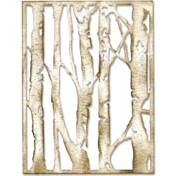 Birch Trees Thinlits Dies by Tim Holtz Sizzix
