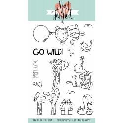 Wild Ones Stamp Set Clear Stamps Neat & Tangled