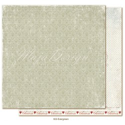 "Carta Evergreen 12""x12"" Joyous Winterdays Collection Maja Design"