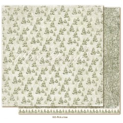 "Carta Pick a Tree 12""x12"" Joyous Winterdays Collection Maja Design"