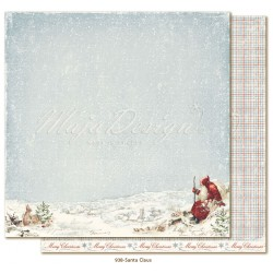 "Carta Santa Claus 12""x12"" Joyous Winterdays Collection Maja Design"