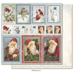 "Carta Ephemera 12""x12"" Joyous Winterdays Collection Maja Design"