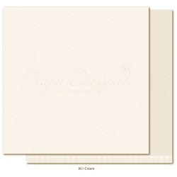 "Creme Monochromes - Shades of Winterdays 12""x12"" Maja Design"
