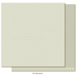 "Light Green Monochromes - Shades of Winterdays 12""x12"" Maja Design"
