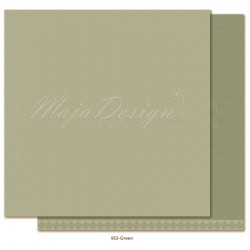 "Green Monochromes - Shades of Winterdays 12""x12"" Maja Design"