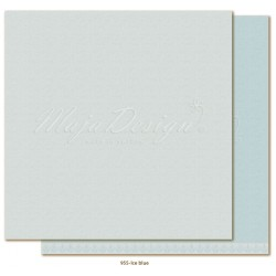 "Ice Blue Monochromes - Shades of Winterdays 12""x12"" Maja Design"