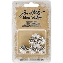 Fluted Metal Stars Idea-ology by Tim Holtz