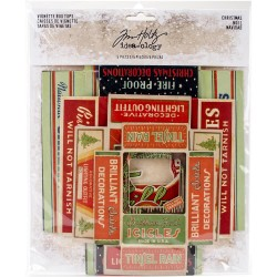 Christmas Vignette Box Tops Idea-ology by Tim Holtz