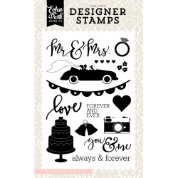 Mr & MRS Clear Stamps Echo Park