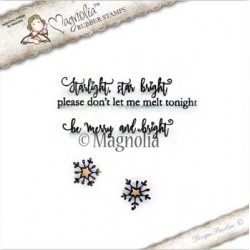 Timbro Starlight Kit Magnolia Rubber Stamp - CP-17