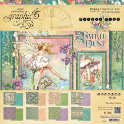 "Fairie Dust Papercrafting Paper 12""x12"" Graphic 45"