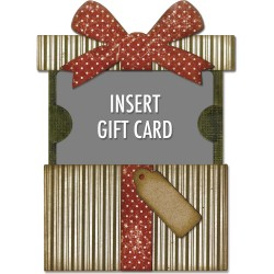 Gift Card Package Thinkits Dies by Tim Holtz Sizzix
