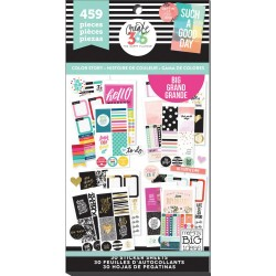 Color Story Big Create 365 The Happy Planner Sticker Value Pack