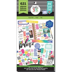 Faith Classic Create 365 The Happy Planner Sticker Value Pack