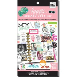 Everyday Memories Stickers Create 365 The Happy Planner Me & My Big Ideas