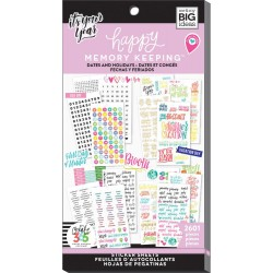 Dates and Holidays Stickers Create 365 The Happy Planner Me & My Big Ideas