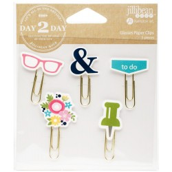 Glasses Planner Decorative Clips 5 Pkg Jillibean Soup