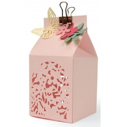 Floral FAvour Box Thinlits Dies Sizzix