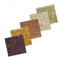Assortiment 2 Self-Adhesive Glitter Paper