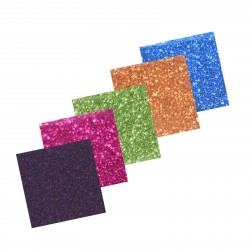 Assortiment 5 Self-Adhesive Glitter Paper