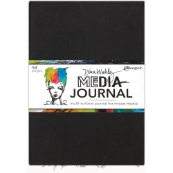 "Media Journal 10""x14,25"" Dina Wakley"