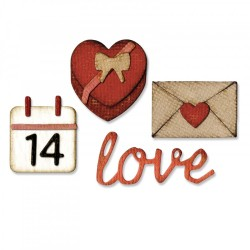 Valentine Sidekick Side-Order Set By Tim Holtz Sizzix