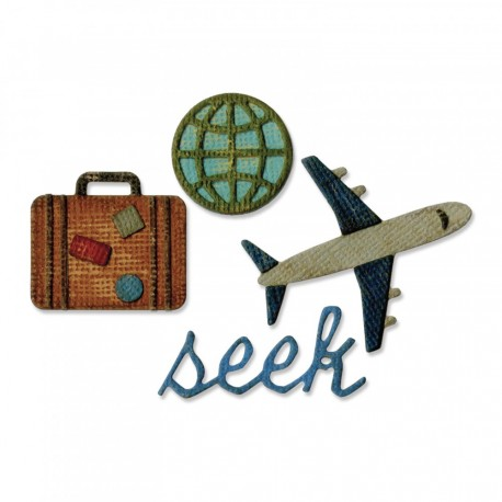 Travel Sidekick Side-Order Set By Tim Holtz Sizzix