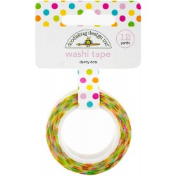 Dainty Dots Washi Tape 15 mm Doodlebug