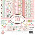 "Sweet Baby Girl Collection Kit 12""x12"" Echo Park"