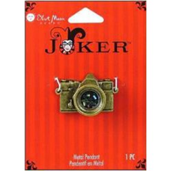 Camera Oxidized Brass Joker
