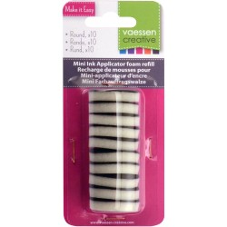 Mini Ink Applicator Foam Refill Vaessen Creative