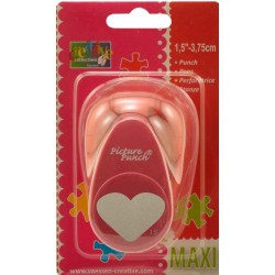 Heart Lever Punch Maxi Make It Easy Vaessen Creative