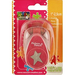 Distrotion Star Lever Punch Medium Make It Easy Vaessen Creative