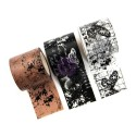 Butterfly Notes Prima Traveler's Journal Decorative Tape 3 Pkg Prima Marketing