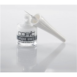 Opaque White 10 ml con Pennello Copic